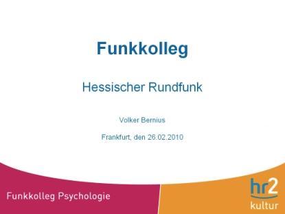 Funkkolleg Hessischer Rundfunk