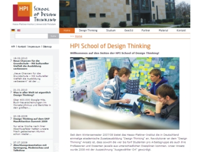 HPI Institut | School of Design Thinking